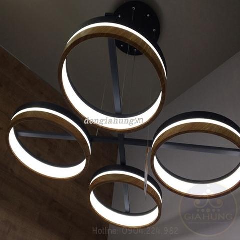 Đèn thả trần phòng khách hiện đại HD 1221-4L