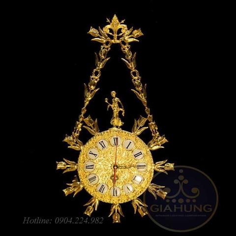 Đồng hồ mạ vàng 9938