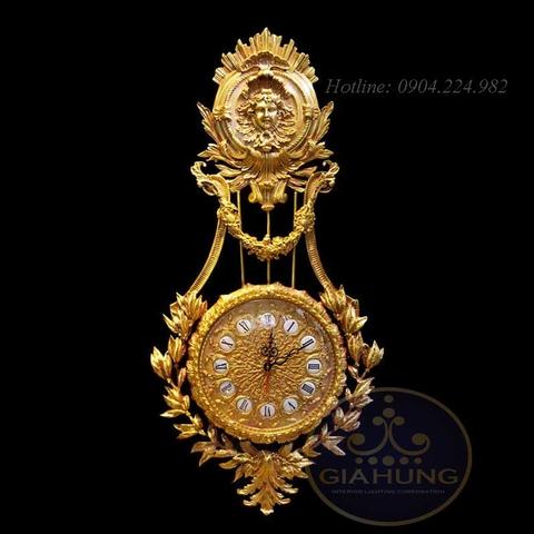 Đồng hồ mạ vàng S000539