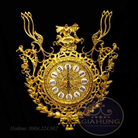 Đồng hồ mạ vàng S000543