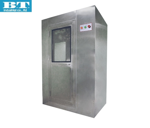 Overview Vertical Flow Air Shower