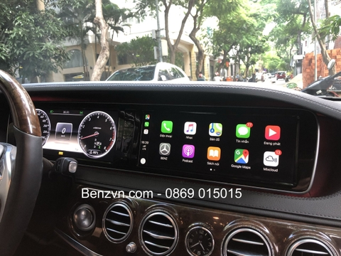 Bộ apple carplay cho xe Meredes Benz S400 , S500