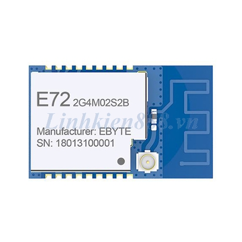 Module bluetooth E72-2G4M02S2B IC CC2640