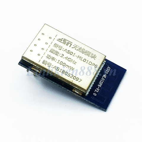 Module nRF24L01P+PA+LNA100mW AS01-ML01DP6