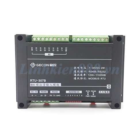 Module Modbus RTU 8AI cổng giao tiếp RS232 RS485