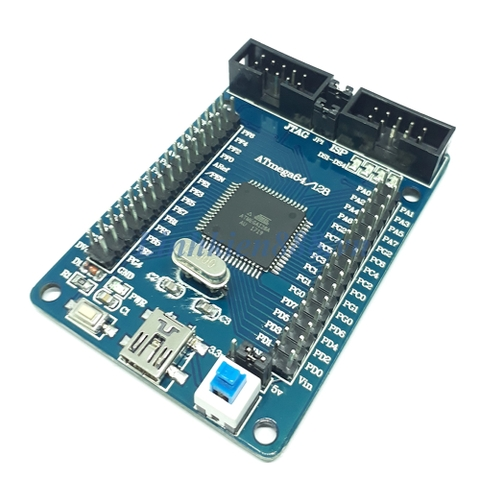 Kit ATMEGA 128A-AU mini