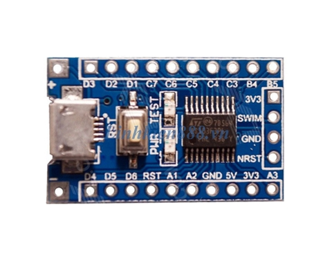 Kit STM8S103F3P6 Mini V2