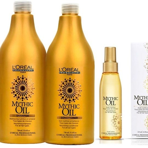 DẦU XẢ LOREAL MYTHIC OIL 750ML
