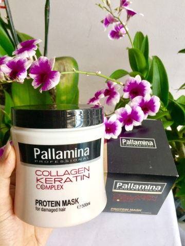 HẤP DẦU  PALLAMINA COLLAGEN KERATIN 500ML