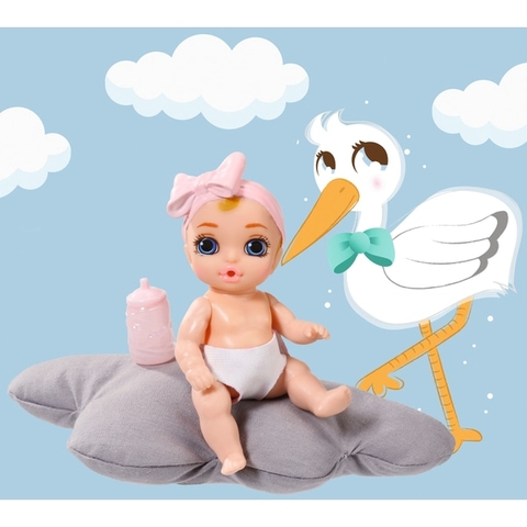 Búp Bê Đức 10 cm Mini Baby Born Surprise 2 inch Doll  Zapf Creation
