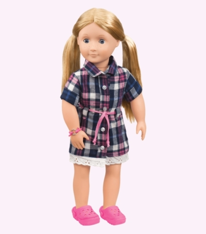 Búp bê Mỹ Cao cấp Deluxe SHANNON  46cm - Our Generation 18 inch Doll