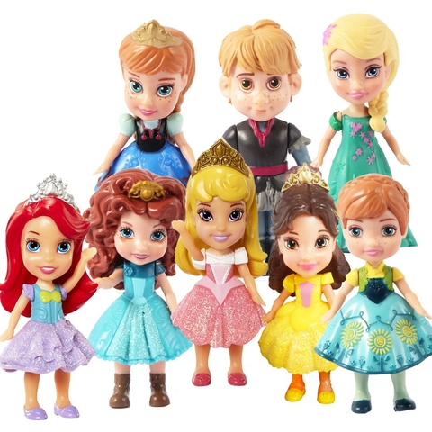 Búp Bê Disney 9 cm Princess Mini Toddler
