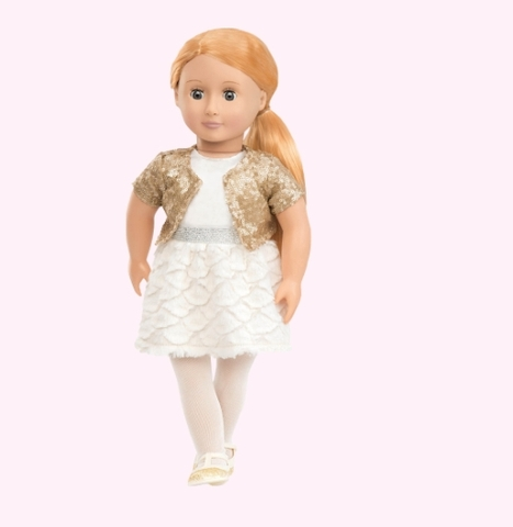 Búp bê Mỹ Cao cấp Holiday Hope  46cm - Our Generation doll 18 inch