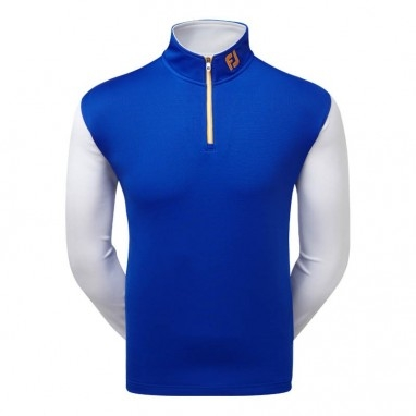 Áo Golf Nam FJ Chill- Out Contrast Pullover (A203)