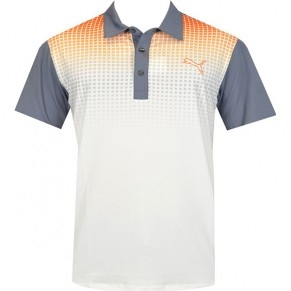 Áo golf trẻ em  Puma Tech Polo Jr - V.Org/Gray Dawn 56847102 (JA14)