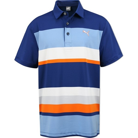 Áo golf trẻ em  Puma Tech Polo Jr-S.Blue 56909202 (JA16)