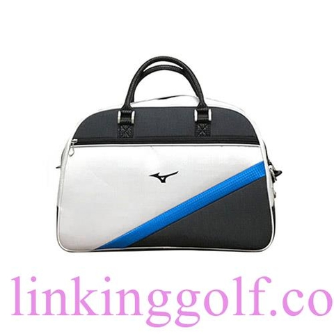 Túi Boston Bag MIZUNO White X Blue 5LTB 1870020122 (BB35)