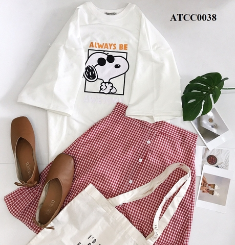 ATCC0038 - Aó tay lỡ Always Be A Wesome - SỈ 85K
