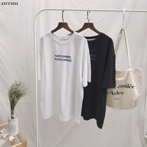 ATCC0201 - Áo thun cotton xược My Love Is - SỈ 140K