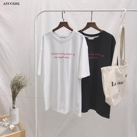 ATCC0202 - Áo thun cotton  xược This Time - SỈ 140K