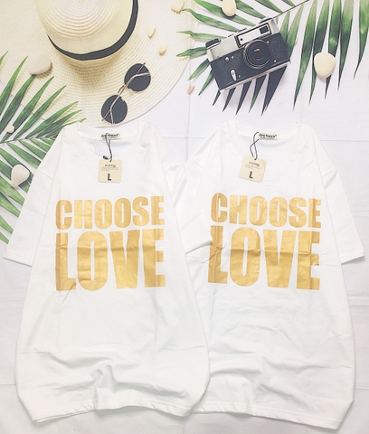 AH384 CHOOSE LOVE NHỦ ĐỒNG
