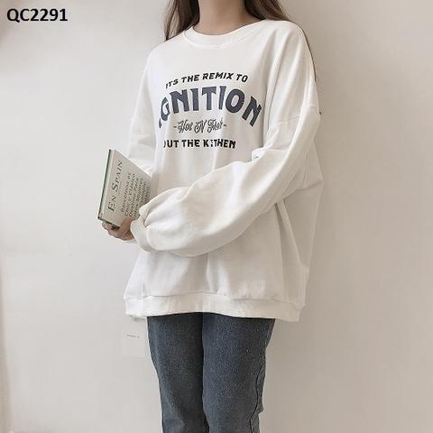 QC2291 - HOODIE QC IGNITION - SỈ 195K