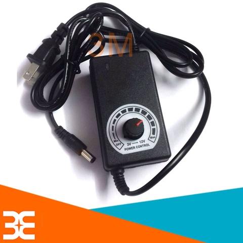Adapter Điều Chỉnh Điện Áp 3-12VDC  2A (5.5x2.1)