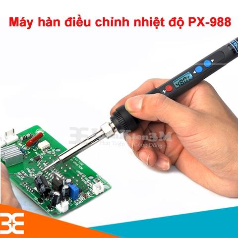 Máy Hàn Điều Chỉnh Nhiệt Độ Hiển Thị LCD PX-988 90W 220VAC 100-480*C