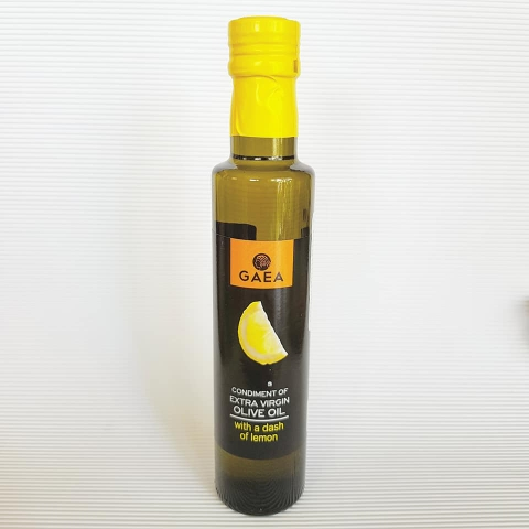 GAEA Extra Virgin Olive Oil with a dash of Lemon 250ml