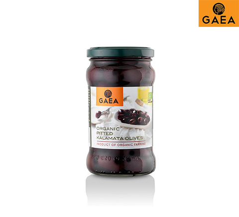 Organic Greek Pitted Kalamata Olives 300g Jar