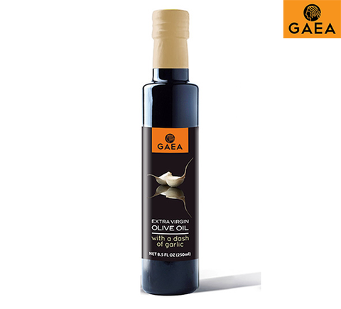 GAEA Extra Virgin Olive Oil with a dash of Garlic 250ml