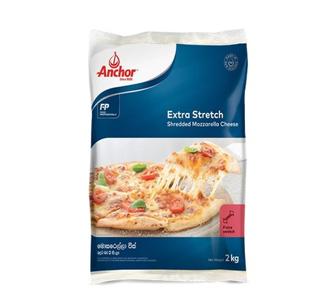 Shredded Mozzarella Cheese 2kg Bag