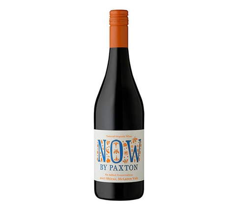 Paxton Organic NOW 'Preservative-Free' Shiraz 2017