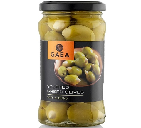 GAEA Stuffed Green Olives with Almond 315gr