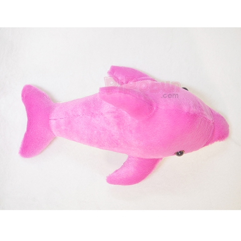 Cá heo nhồi bông Pipobun - Size 50cm - Tím