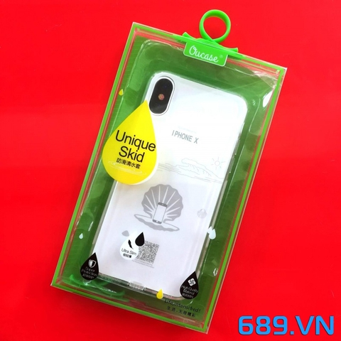 Ốp Case VU Siêu Trong Silicon Iphone X