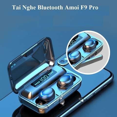 Tai Nghe Bluetooth 5.0 True Wireless AMOI F9 Pro