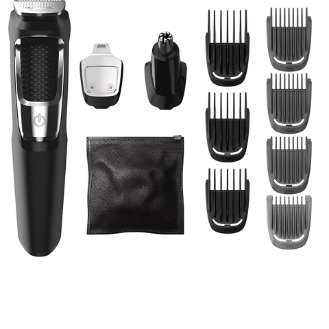 Tông đơ Philips Norelco Multigroom All-In-One Series 3000, 13 attachment trimmer, MG3750