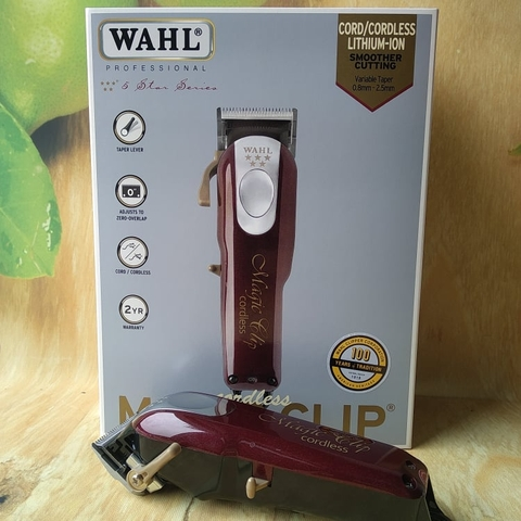 Tông đơ WAHL CORDLESS MAGIC CLIP 5 STAR