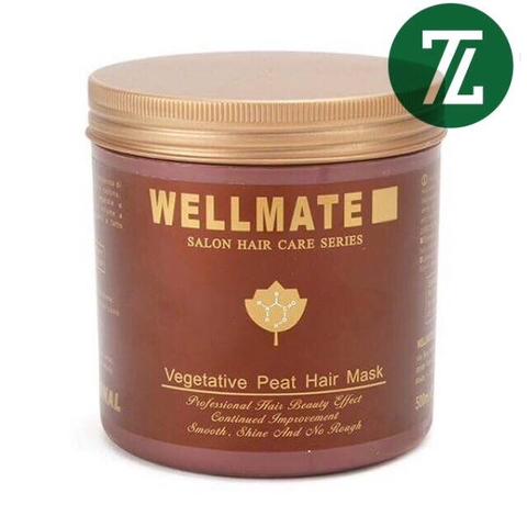Kem Ủ Tóc Wellmate Vegetative Peat Hair Mask 500ml