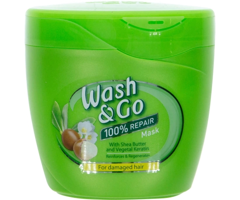 Ủ Tóc Wash & Go With Shea Butter & Vegetal Keratin 300ml (Ý)