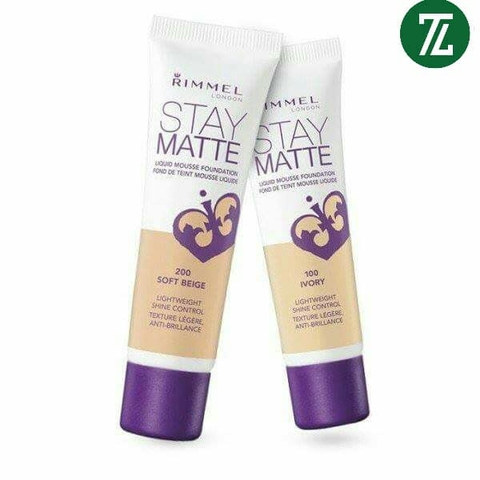 Kem Nền Rimmel Stay Matte Liquid Mousse 30ml