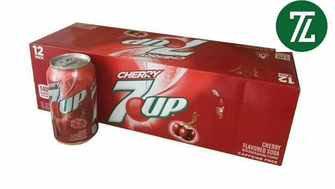 Nước 7 Up Soda Cherry 355ml ( 12 Lon)