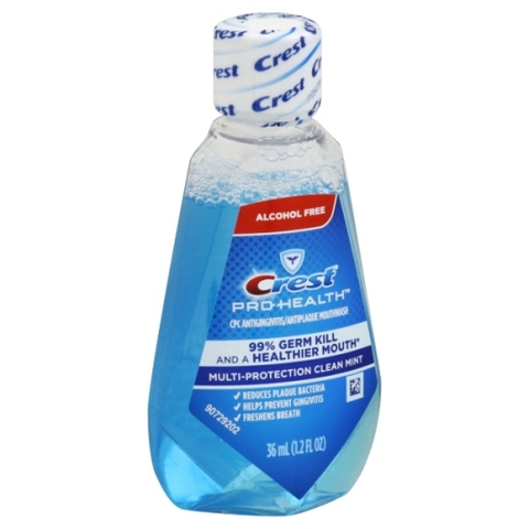 Nước Súc Miệng Crest Pro-Health Advanced Anticavity Fluoride Mouthwash 36ml