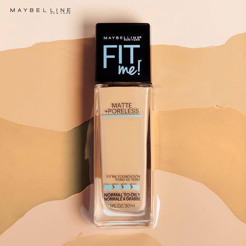 KEM NỀN MAYBELLINE FIT ME MATTE + PORELESS/ DEWY + SMOOTH FOUNDATION
