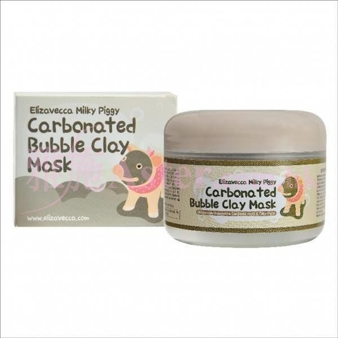 Mặt nạ Heo Carbonated Bubble Clay Mask 100ml