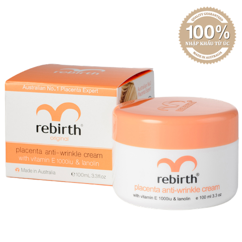 Kem Dưỡng Nhau Thai Cừu Rebirth Placenta Anti-Wrinkle Cream Úc 100ml