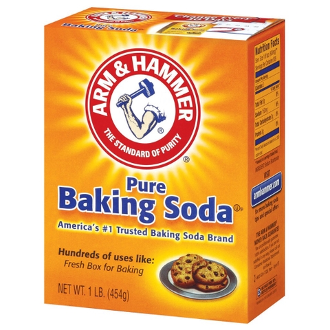 Bột Pure Baking Soda Arm & Hammer 454g (The USA)
