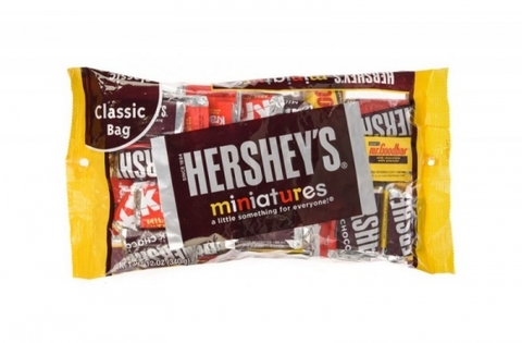 Kẹo Chocolate Hershey's Miniature 340g