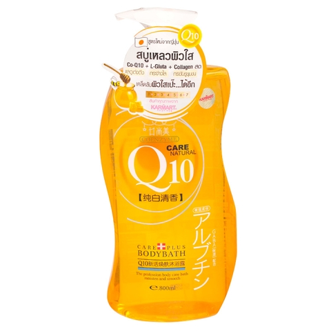 Sữa Tắm Boya Coenzyme Q10 Care Nautural 800ml
